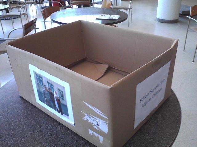 College of Engineering Donation Box