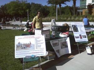 Our Bull Market Fundraiser Booth