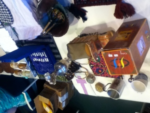 Some of the gifts returning for past students, including the Hookah. Photo by Alejandro Cuesta.